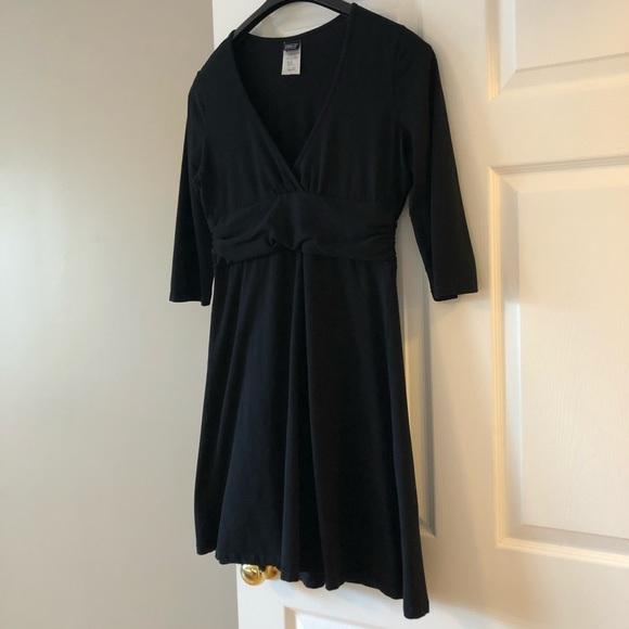 Patagonia Margot black dress